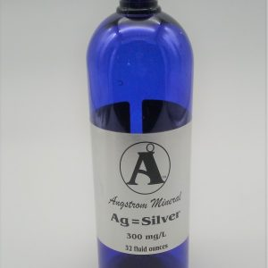 Silver 32oz Bottle