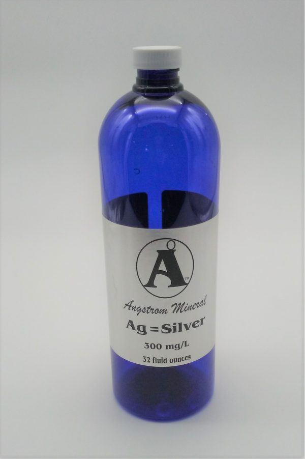 Silver 32oz Bottle