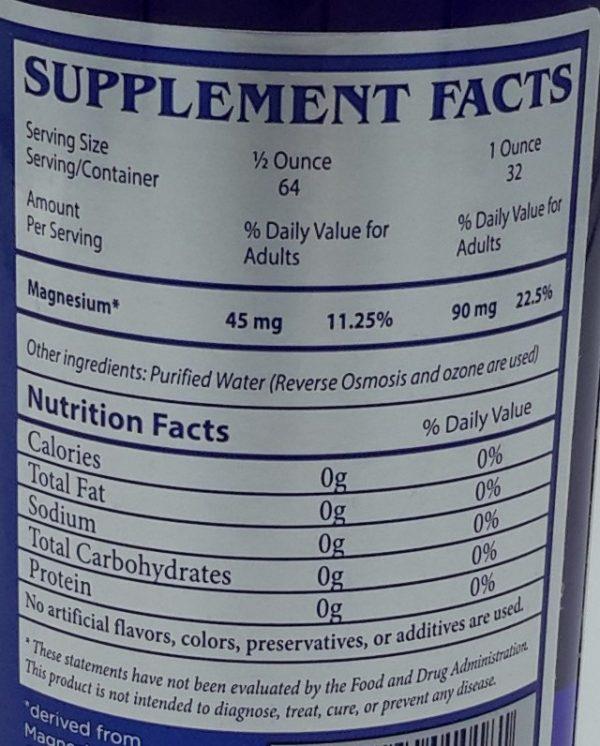 Magnesium Label