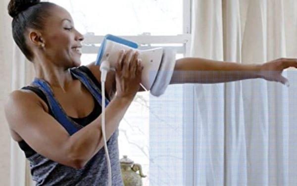 Forearm massage with Myobuddy Pro 2 Massager
